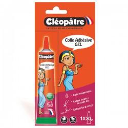 Blister Colle écolier Cléopâtre en tube alu de 30 gr