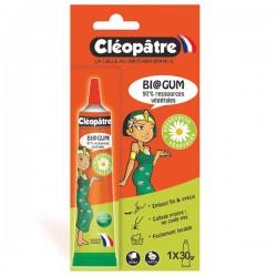 Blister d'une tube de colle végétale forte Biogum en 30 gr avec embout précis