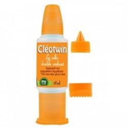 Cléotwin 28 ml avec deux embouts fin et large