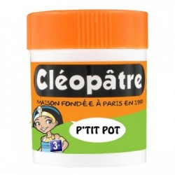 Pot Cléopâtre with integrated spatula 50 gr.