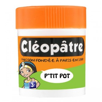 Pot Cléopâtre with integrated spatula 50 gr.