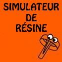 Simulateur de résine